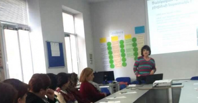 Small hotels and BnBs training in Yeghegnadzor