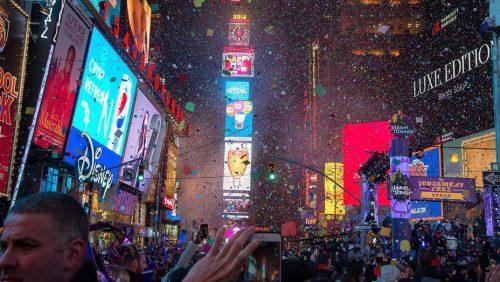 Նոր տարվա գիշերը Թայմ Սքուերում