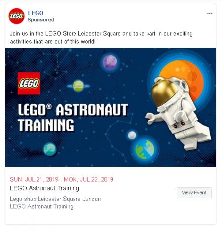 Լեգոյի գովազդը