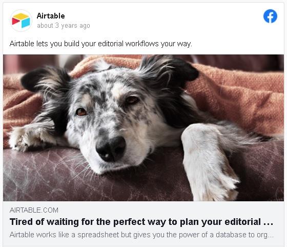 Facebook best ads - photo ads 1