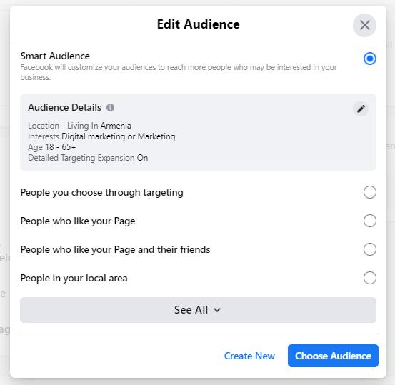 edit audience